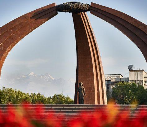 Denkmal in Bishkek