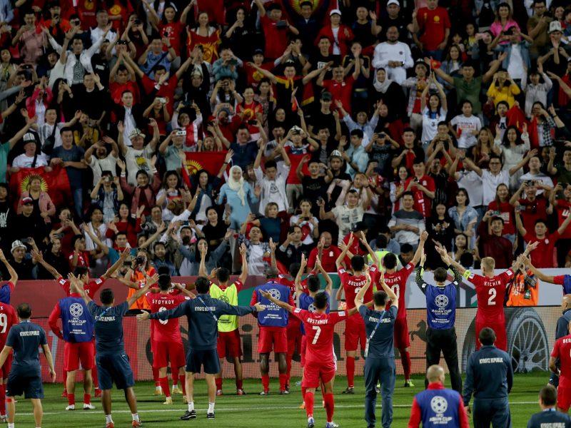 Kirgisische Nationalmannschaft Asia Cup