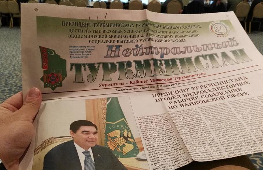 Neutrales Turkmenistan Titelseite