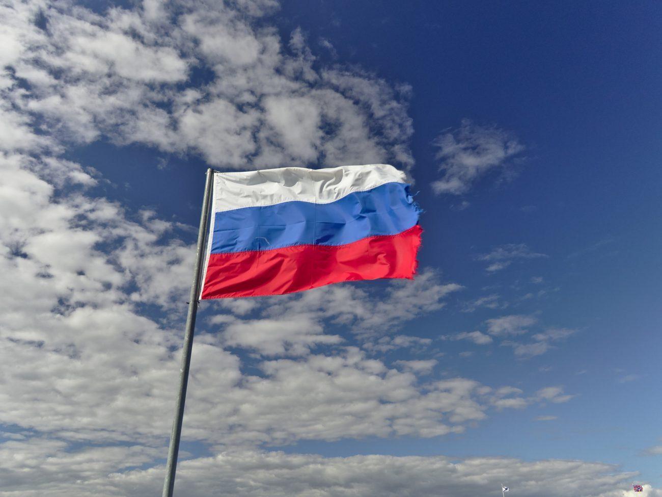 Flagge Russlands