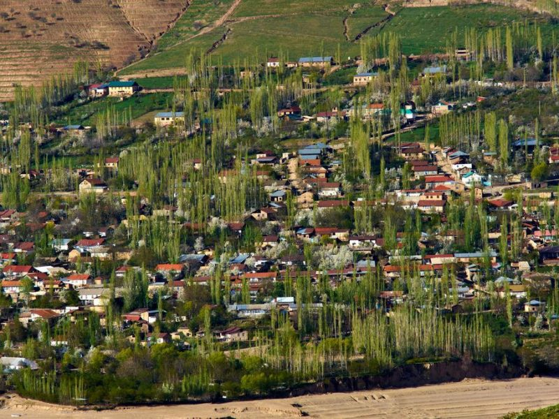 Burchmulla Usbekistan Bild des Tages Frühling Grün