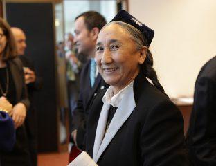 Rebiya Kadeer Wetlkongress der Uiguren 2011 Genf