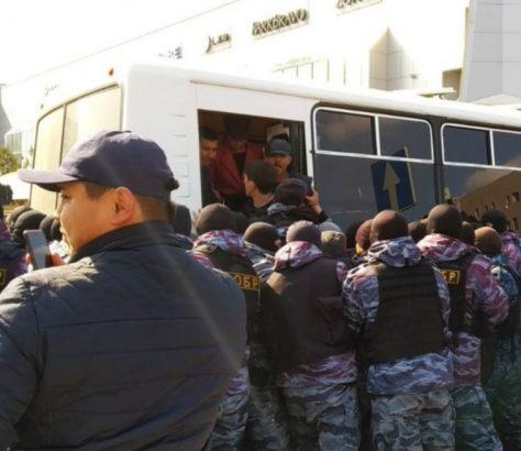 Festnahmen in Nur-Sultan