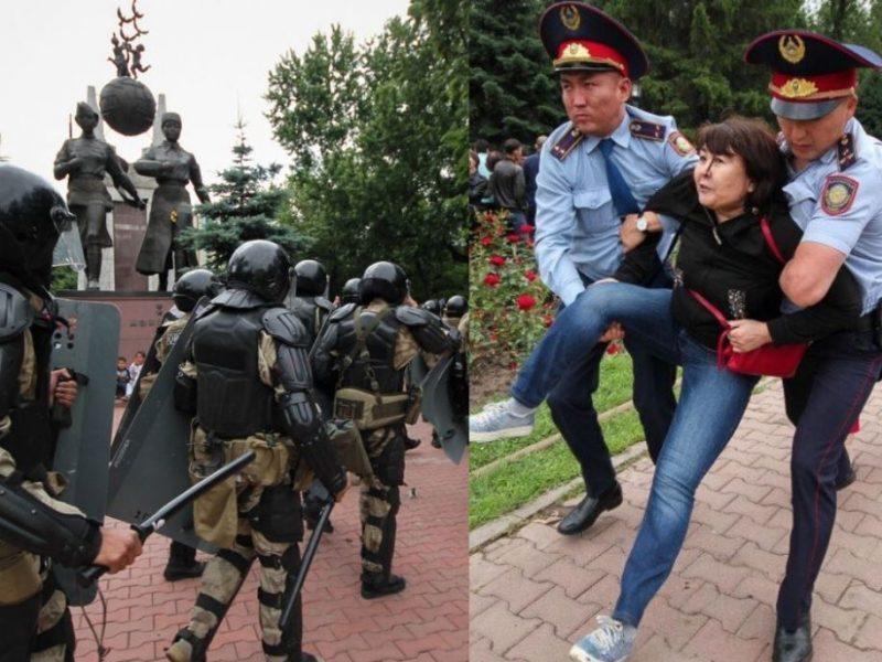 Proteste Wahl Kasachstan