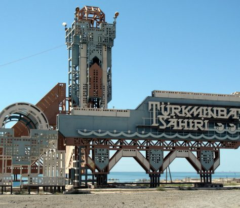 Türkmenbasi Turkmenistan Nijasow Kaspisches Meer