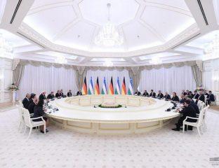 Steinmeier in Usbekistan