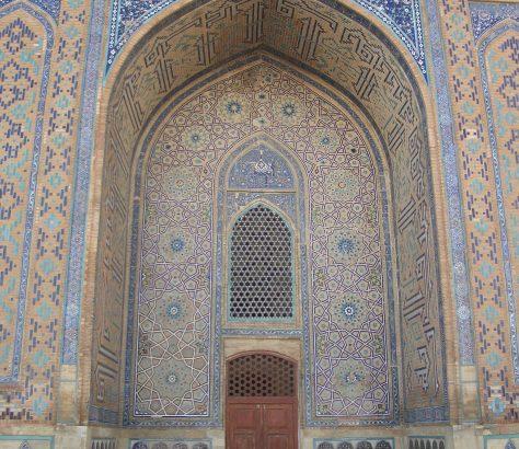 Yasaui-Mausoleum Turkestan Kasachstan Bild des tages