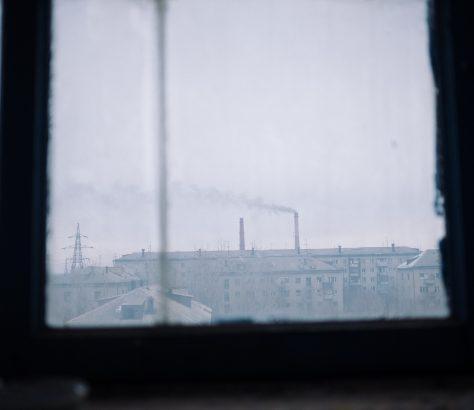 Fabrik Semey Kasachstan Bild des tages