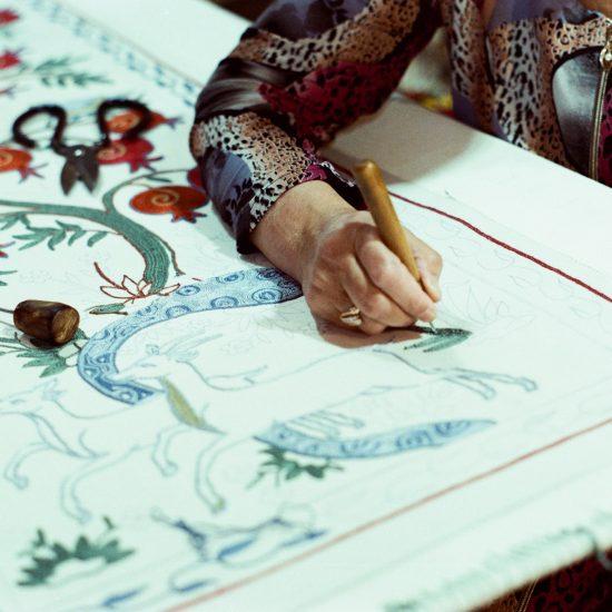 Suzani Buchara Stickerei Usbekistan