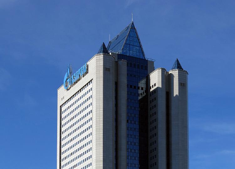 Firmensitz von Gazprom