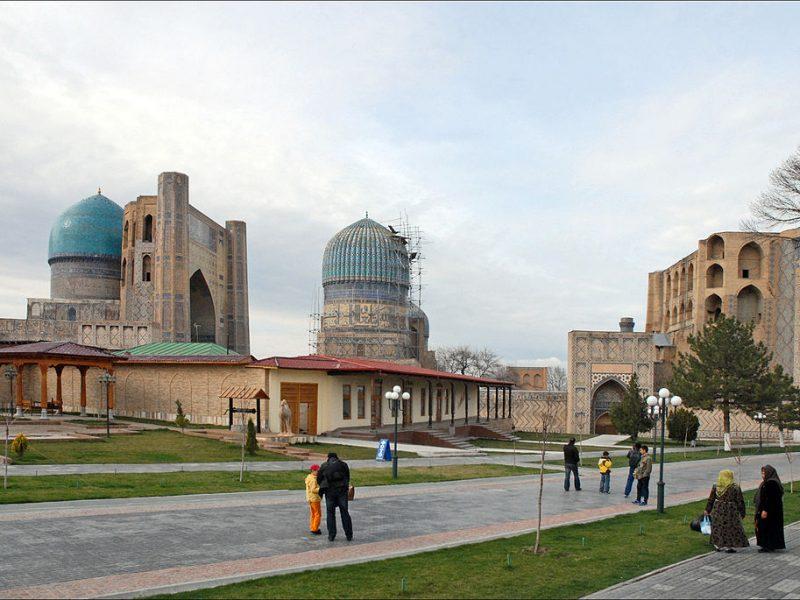 Die Bibi-Hanum-Moschee in Samarkand