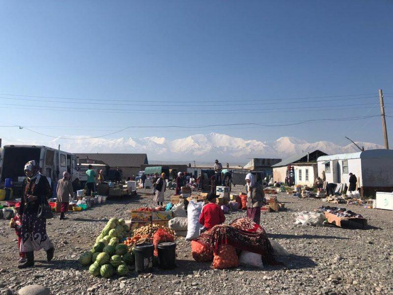 Sary Mogul Kirgistan Pik Lenin Markt Basar
