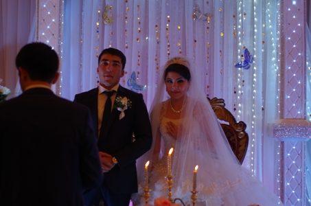 Ein Brautpaar