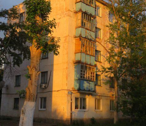 Chruschtschowka Arkalyk Kasachstan Sowjetische Architektur