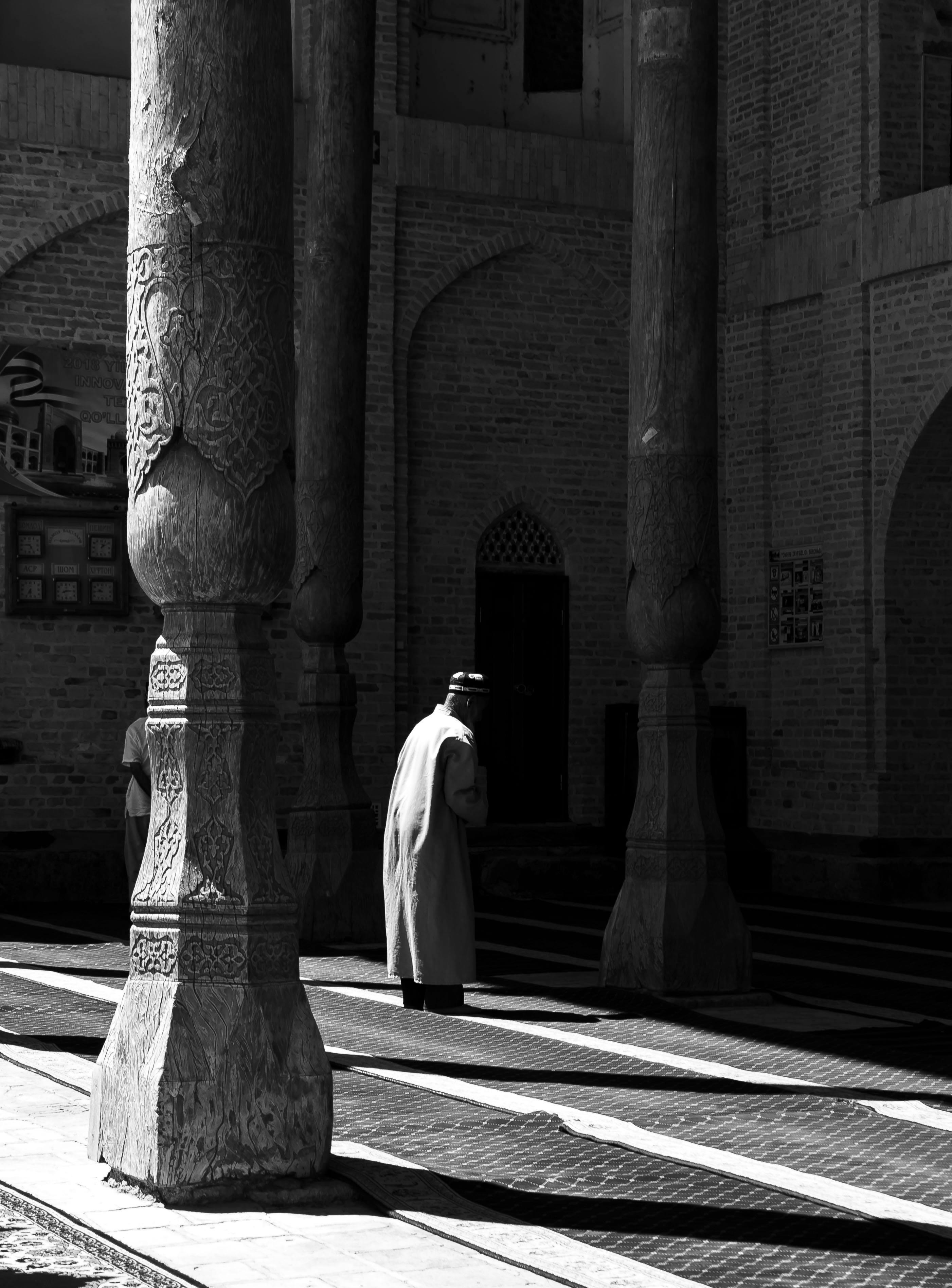 Moschee Buchara Usbekistan Tanya Zavkieva