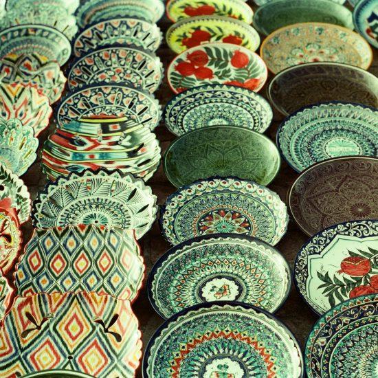 Keramik Usbekistan Buchara Handwerk