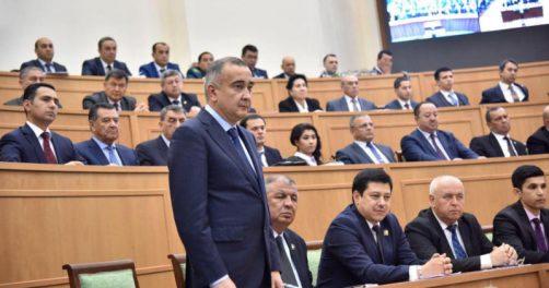 Der Bürgermeister von Taschkent Jahongir Ortiqxoʻjayev