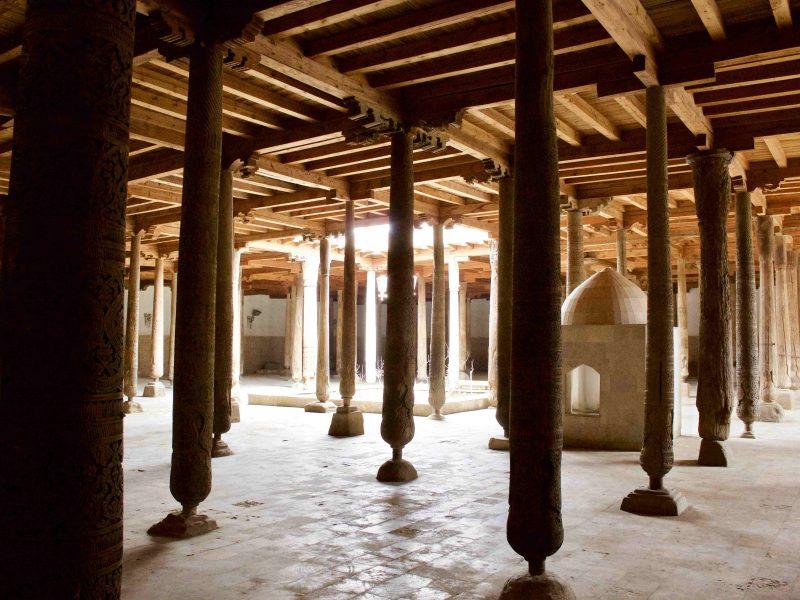 Die Freitagsmoschee in Khiva