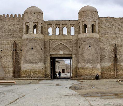 Chiwa Usbekistan Konya Ark Itchan-Kala Stadtmauer