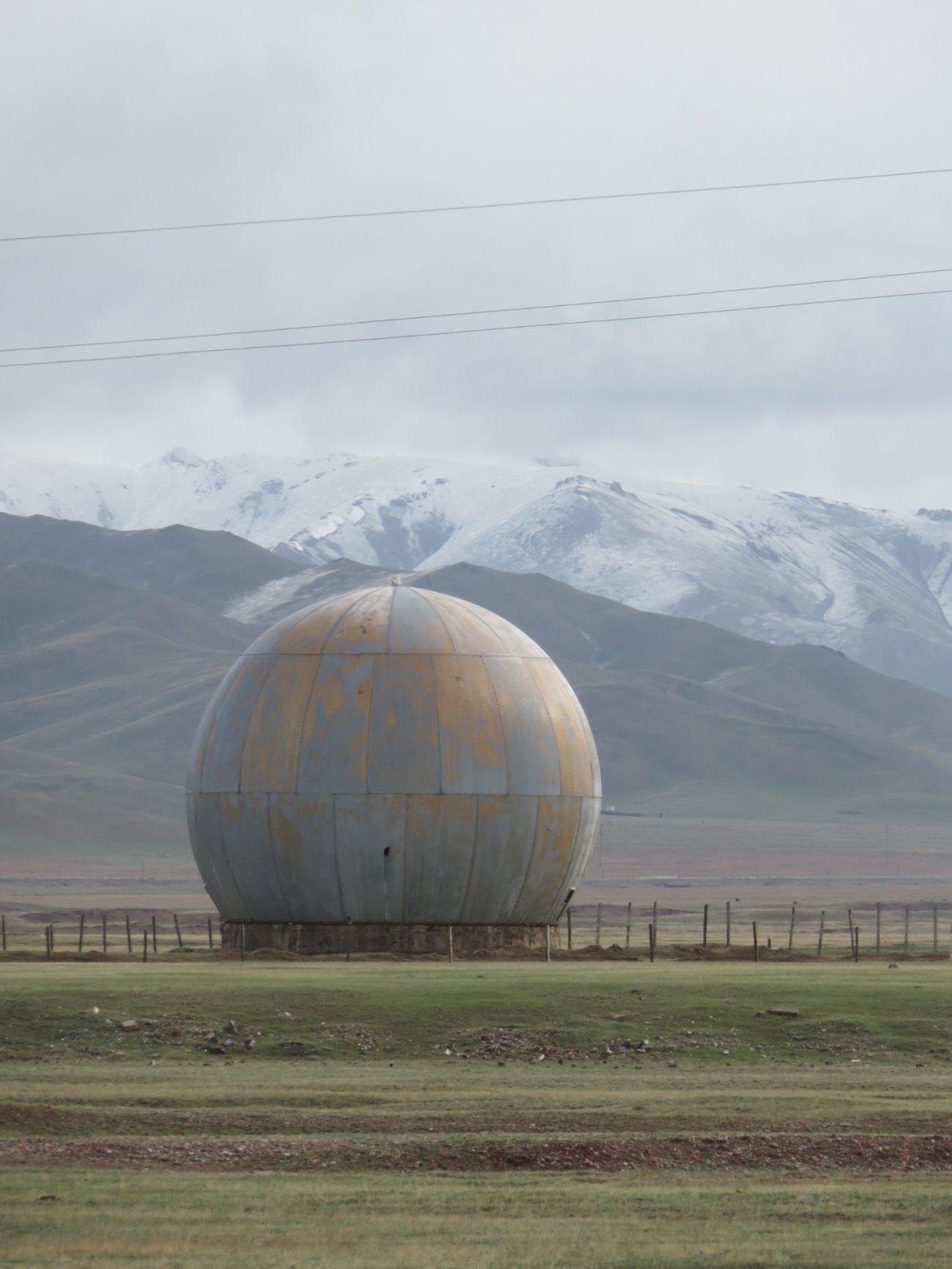 Ein Radar in Sary-Tasch