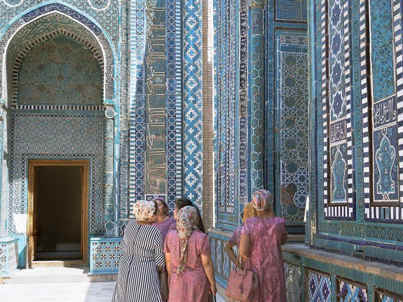 Shohizinda Samarkand Usbekistan timuridische Architektur