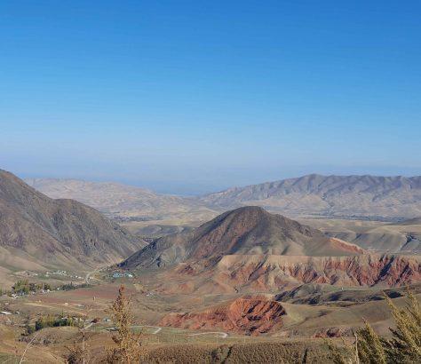Kirgisistan Tal Gebirge