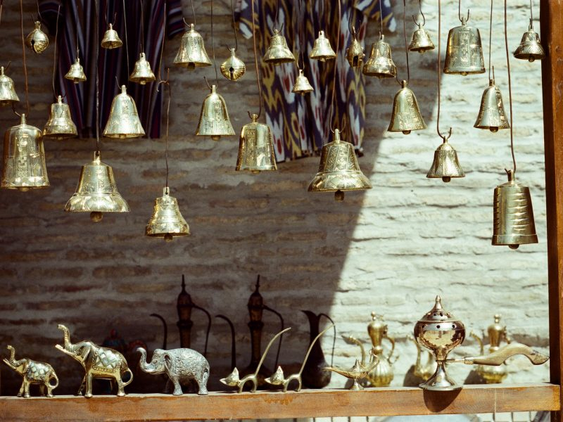 Goldene Glocken in Buchara