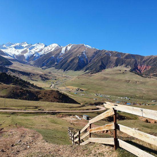 Kirgisistan Zentralasien Alpen