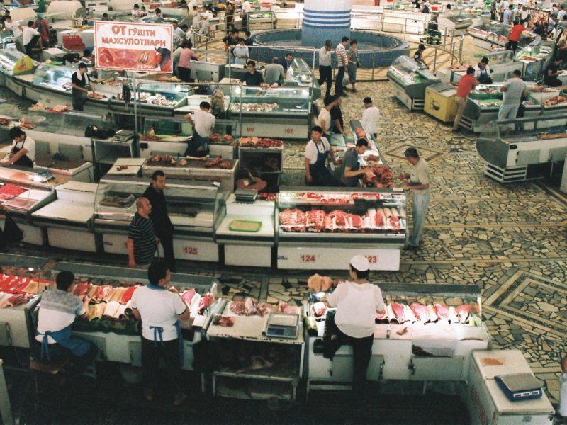 Chorzu-Bazaar Basar Taschkent Usbekistan