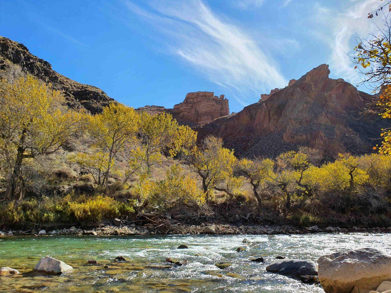 Herbst im Sharyn-Canyon