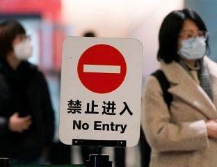 China Grenze geschlossen