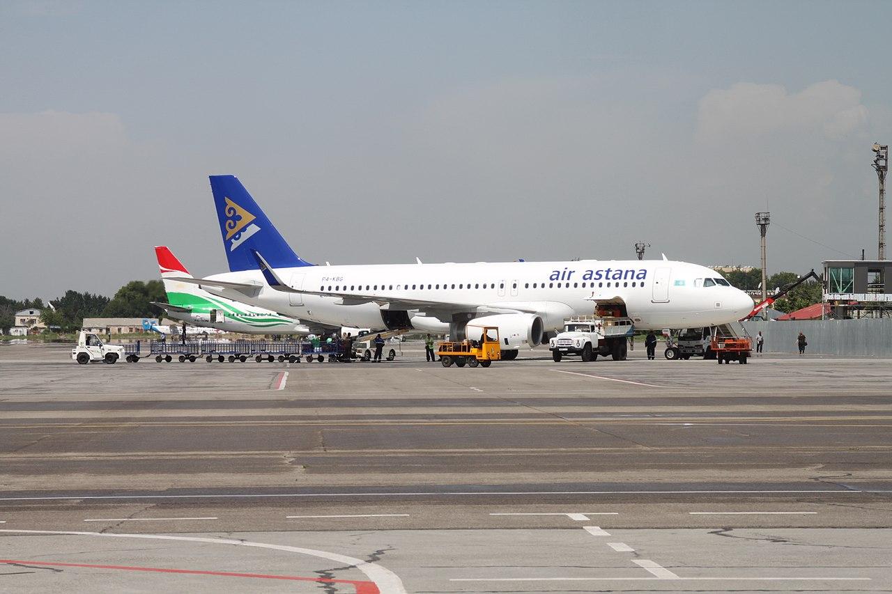Flugzeuge zentralasiatischer Fluggesellschaften
