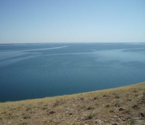 Blick über den Aydarsee