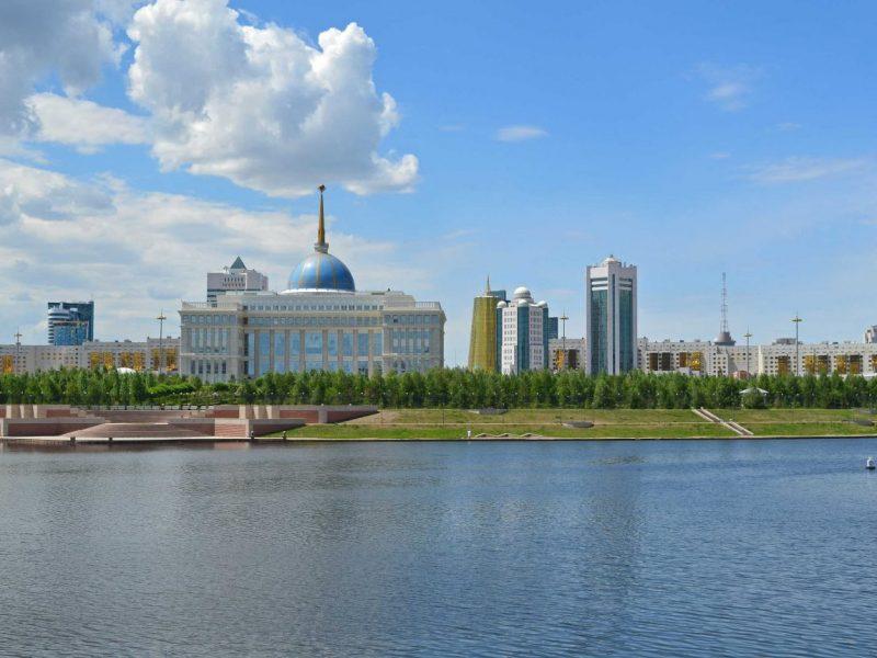 Der Präsidentenpalast Akorda