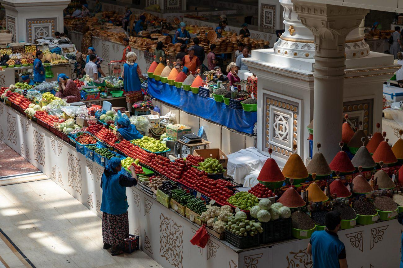 Tadschikistan Markt