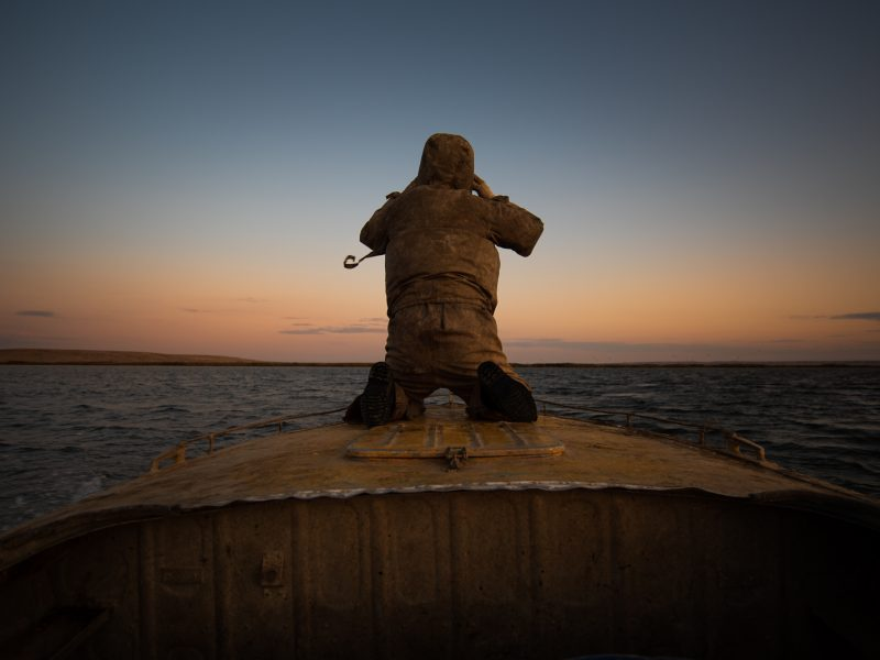 Kasachstan Aralsee Dam
