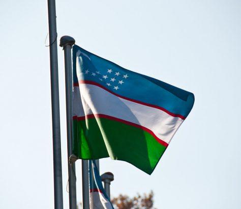 Flagge Usbekistans