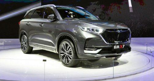 ein SUV der Marke Oshan
