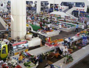 Marktszene in Aschgabat