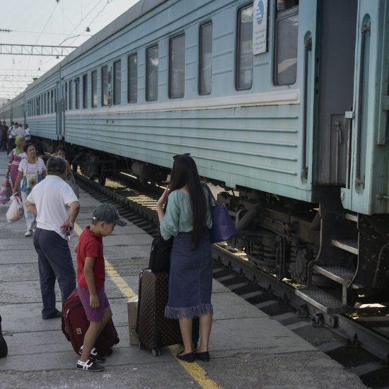 Schymkent Bahnhof Kasachstan