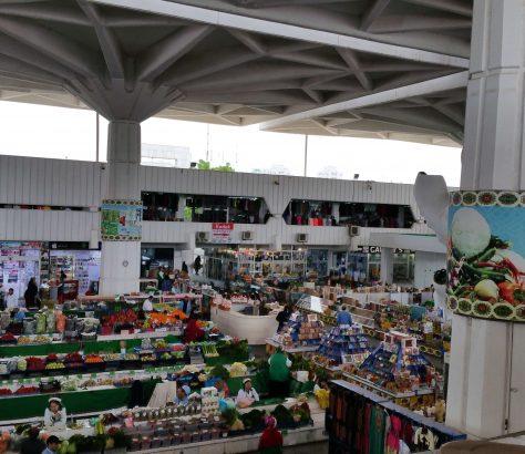 Turkmenistan Aschgabat Basar Russischer Basar Architektur Markt