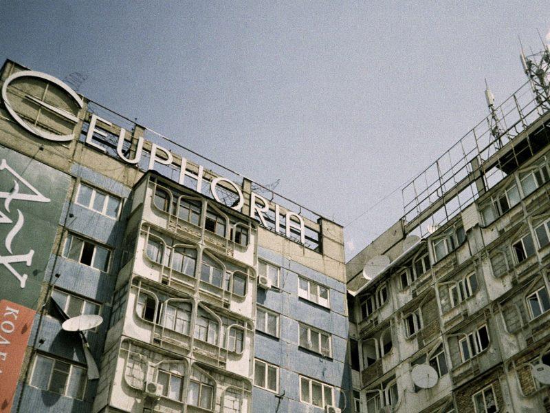 Kirgistan Bischkek Architektur