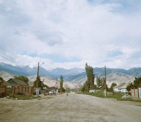 Tamga Kirgistan Issikköl Berge