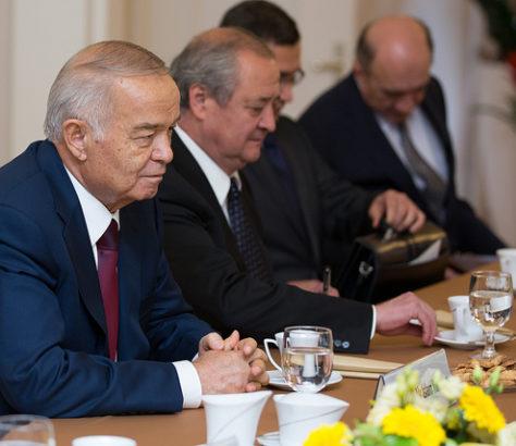 Karimow Präsident Usbekistan