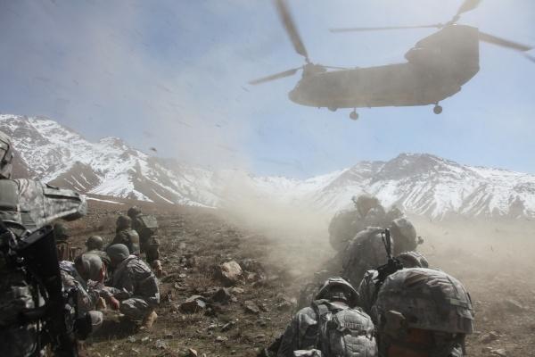 Afghanistan Armee USA