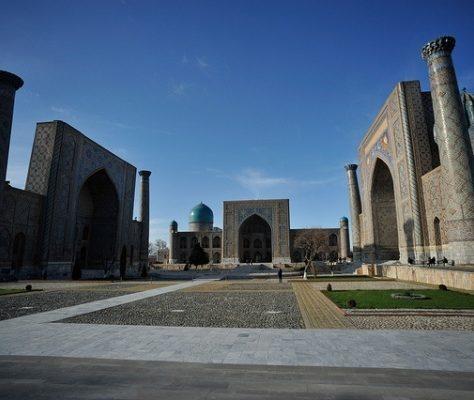 Bibi Chanym Moschee Samarkand