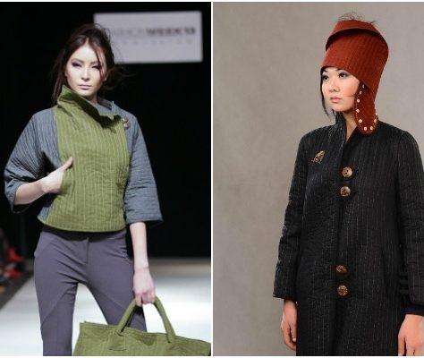 Jumagul Sarieva  Fashionshow Kirgistan