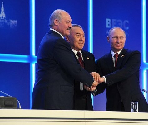 Putin Nasarbajew Lukaschenko