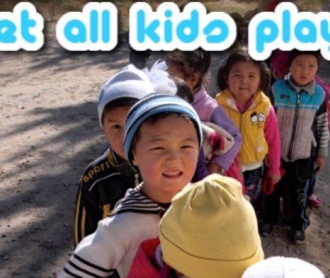 Let all kids play - Bischkek