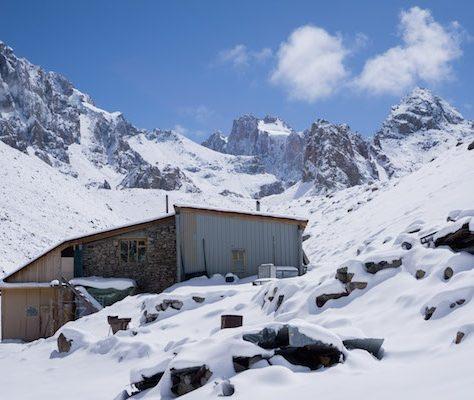 Ratsek Hütte Kirgistan Ala Archa